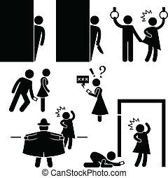 physco, molester, pervertito, stalker