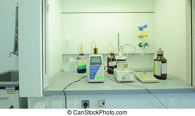 Physical chemistry laboratory equipment. equipment for...