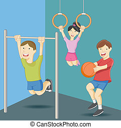 Physical Education Class - An image of physical education...