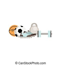 Physical Education Class Set Of Objects
