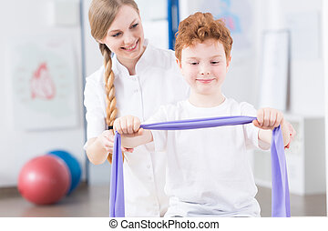 Physical exercises can be real fun