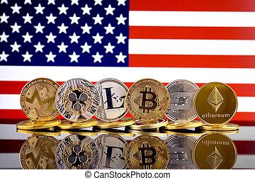 Physical version of Cryptocurrencies (Monero, Ripple, ...