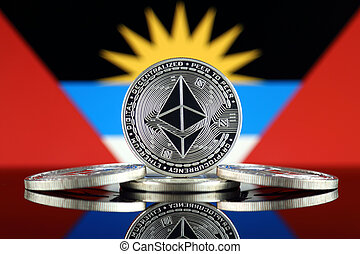 Physical version of Ethereum (ETH) and Antigua and Barbuda ...