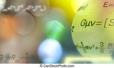 Physics - Einstein moving formulas.