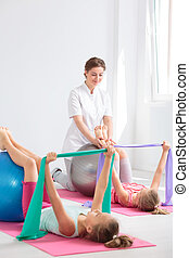 physiothérapie, enfants