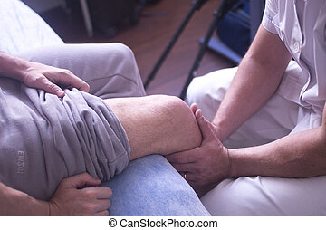 physiothérapie, thérapie physique