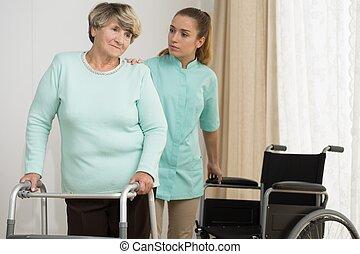 physiotherapie, hause
