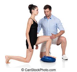 physiotherapist, feldolgozó, türelmes