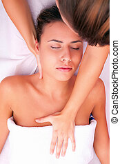 physiotherapy cervical massage