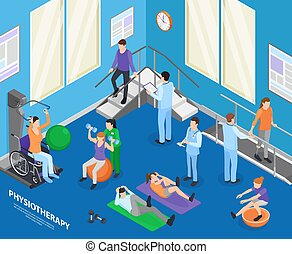 Physiotherapy Isometric Composition