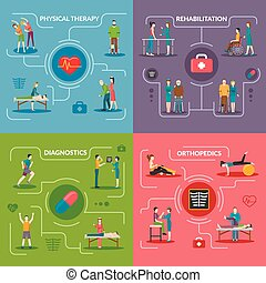 Physiotherapy Rehabilitation 2x2 Design Concept - ...