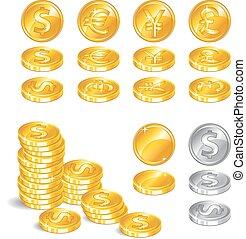 symbole argent richesse or m lange symbols richesse ici vari t. Black Bedroom Furniture Sets. Home Design Ideas