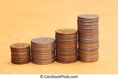 pièces., piles