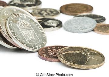 pièces, piles