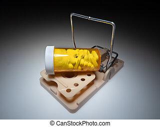 piège, drogue