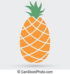 piña, icono