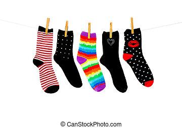 più, calzini, orfano