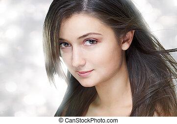 piękno, portret