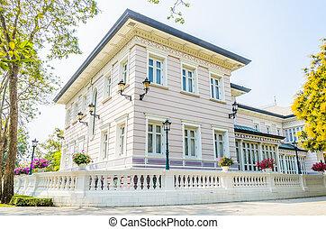piękny, dom powierzchowność