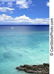 piękny, motyw morski, okinawa