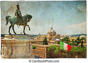 piękny, rzym