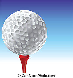 piłka, golf