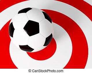 piłka nożna, tarcza, piłka