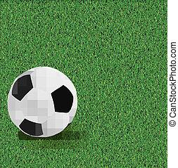 piłka nożna, vector., backgrounds.