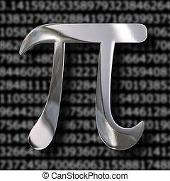 Pi symbol - Pi geometry circle