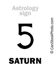 pianeta, astrology:, saturno