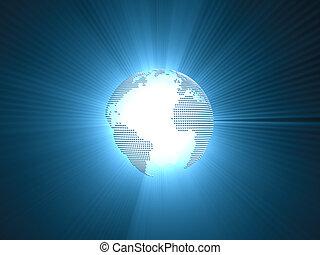 pianeta blu, concetto