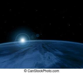 pianeta blu, fantastico
