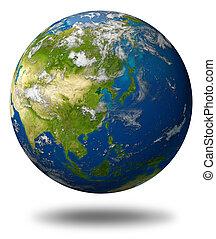 pianeta, caratterizzare, asia