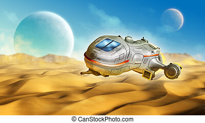 pianeta, deserto
