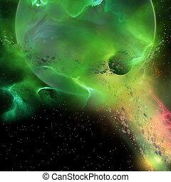 pianeta, inizio