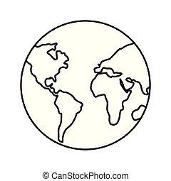 pianeta, mappa mondo