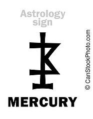 pianeta, mercurio, astrology: