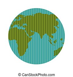 pianeta, mondo, mappa terra