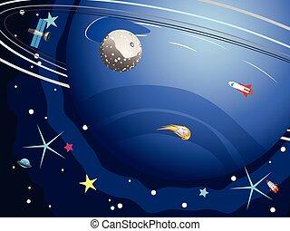 pianeta, nettuno, spazio