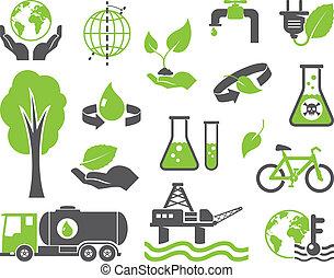 pianeta, simboli, verde