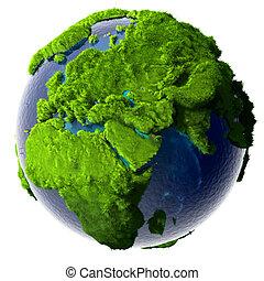 pianeta verde, terra