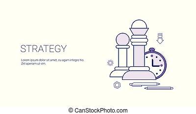 pianificazione, affari, bandiera, sagoma, strategia, copia, ...