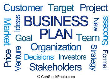 pianificazione aziendali, parola, nuvola
