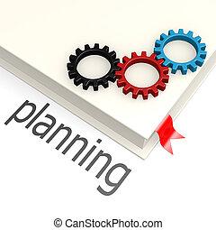 pianificazione, libro