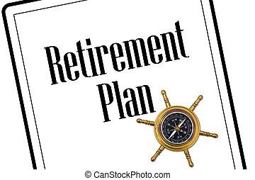 pianificazione, pensionamento, tuo