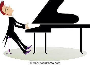 Dessin De Piano illustrations et cliparts de pianiste. 1 159 dessins et