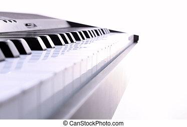 piano, achtergrond