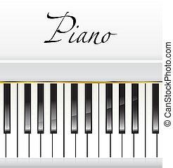 piano background - white piano background