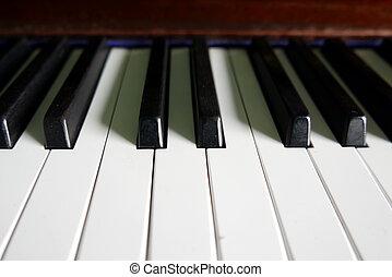 piano, concept, muzikalisch, toetsenbord