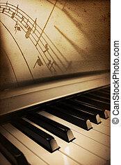 piano, elegância